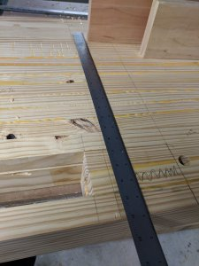 Laying out Leg Mortise