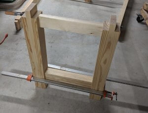Base Glue Up