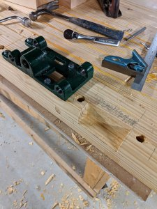 Front Face Mortise