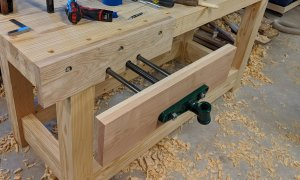 Front Vise Attached