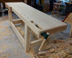 Completed Workbench